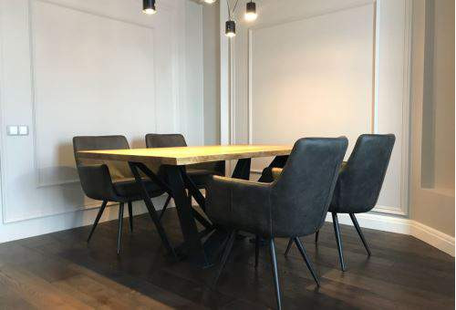 Столы в стиле лофт в интерьере квартиры и офиса