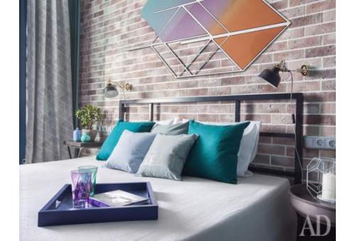 Кровати в стиле лофт в интерьере квартиры и офиса