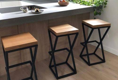 Барные стулья в стиле лофт: основное применение