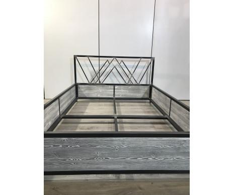 Кровать 2-спальная металл